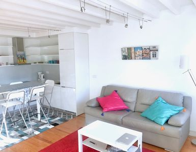 Photo for Charming modern duplex in the heart of Lisbon with stunning view