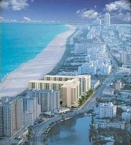Arial views of your home away from home, overlooking entire South Beach