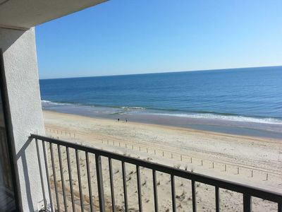 Photo for Wonderful Ocean Front Condo Fantastic View of Ocean and Bay Just Steps to the Beach
