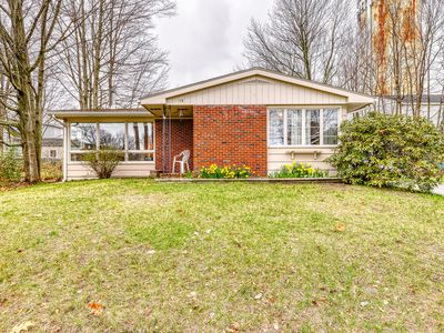 Photo for Quaint home w/ foosball table and private gas grill! Near amusement parks!