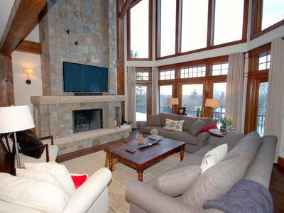 Photo for Prime location, 5 Bedroom Luxury home. Private Hot Tub. Sleeps 16