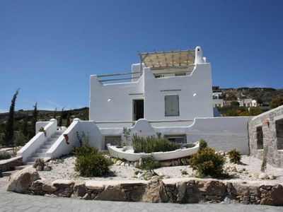 Photo for Villa Appleton Faith 6/160 offers magnificent view of the Aegean Sea