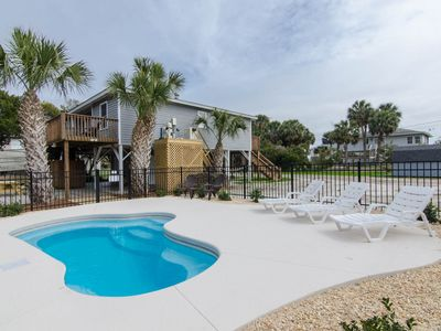 Photo for Hamptons South - Private Pool & One Minute Walk to the Beach