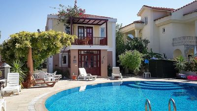 Photo for Beautiful Detached villa with pool, 2 min walk to centre of Dalyan