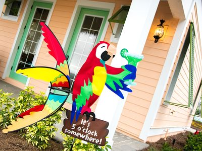 Photo for Margaritaville Resort Orlando - 8 bedroom/8 bath cottage - 8065 Surf Street