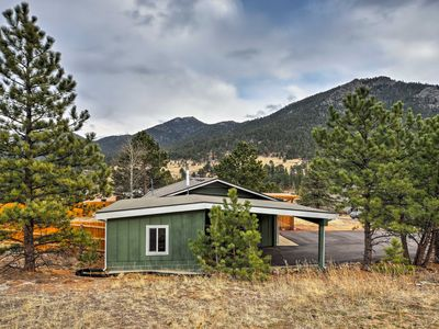 Photo for Rustic Estes Park Home w/Pool Access -5Min to Golf