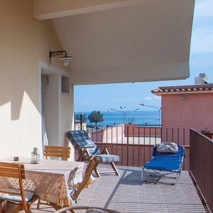 Photo for Holiday apartment with a terrace and only 200 m from the sea
