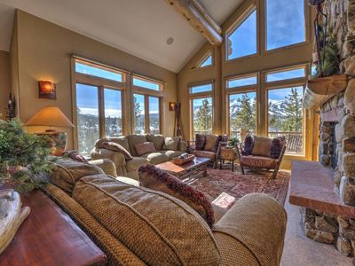 Photo for 5-Star Luxury Single Family Home-5 min to Gondola-WoW Views from Hot Tub-Gorgeous Hm - by iTrip