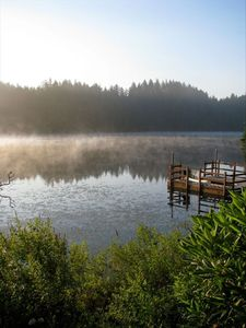Photo for Peaceful Lakefront Vacation Home