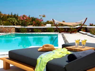 Photo for Amazing Villa Amabile SANTORINI, 2 Bedrooms 2 Bathrooms, Private pool and Panoramic views