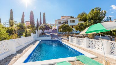 Photo for Authentic holiday villa with BBQ and 3 bedrooms in Frigiliana