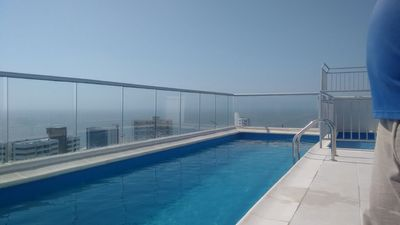 Photo for excellent view & pool, close to the beach @lamagicacartagena