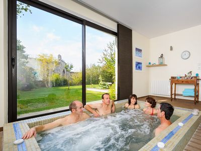 Photo for Renovated, chic and warm private gite, optional SPA