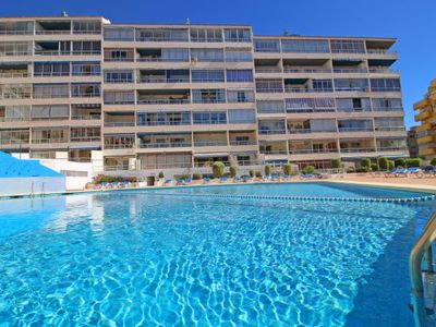 Photo for Calpe Apartment, Sleeps 3 with Pool, Air Con and WiFi