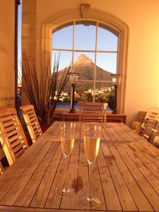 Photo for Stunning 5 bedroom , 5 bathroom Camps Bay House, with sea and mountain views