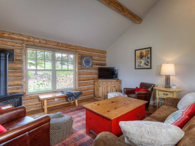 Photo for Perfect Views! Located On The Slope For Perfect Ski Access. Private Hot Tub!