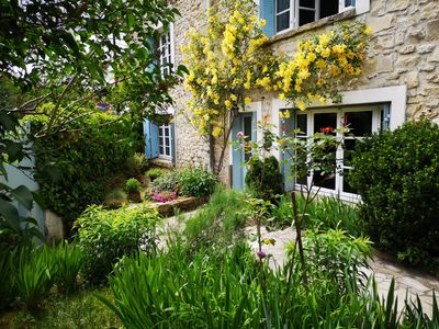 Photo for old village house in the Seine, calm and acceillante