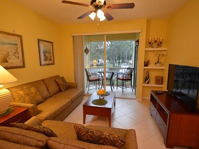 Photo for 1-107 Beach style pool, tennis courts, great for families, kids, and seniors!