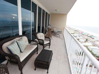 Photo for Magnificent Beach Views, Beautiful Sunrises And Sunsets Beach/Pool Now Open..