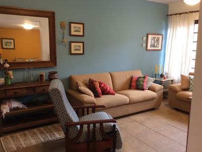 Photo for Two bedroom townhouse for 9 people in a condominium, in front of the beach, surf, Barra Velha