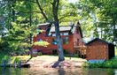 4BR Cabin Vacation Rental in Stone Lake, Wisconsin