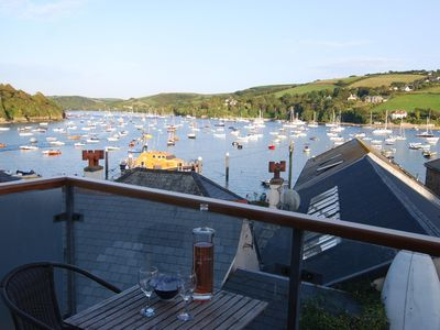 Photo for Holiday cottage with stunning estuary views in heart of Salcombe, South Devon