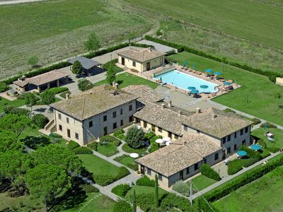Photo for Villa del Lago - Old Noble Mansion with lake view and private pool