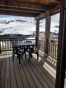 Photo for Apartment T2 Flaine terrace