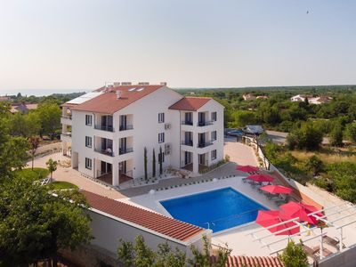 Photo for ap9LUXURY VILLA APARTMENT WITH POOL 101154 - One Bedroom Apartment, Sleeps 4