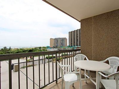 Photo for D203: 1BR Sea Colony Oceanfront Condo! Private Beach, Pools, Tennis ...