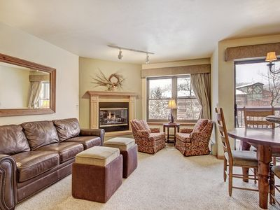 Photo for Ultimate Group Getaway with Slopeside Access and Luxury Amenities