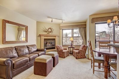 Enjoy retreating to your spacious open-concept living space.