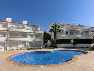 Photo for Small and cozy apartment in residential complex with communal pool and WIFI, just 200 mete