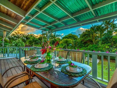 Photo for Hale Anu Keanu, Newly Remodeled, Plantation Style Home with Hot Tub and Walking Distance to Beach