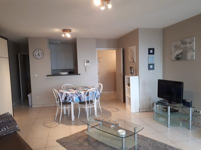 Photo for Spacious Studio with terrace and sea view in Blankenberge - close to Bruges