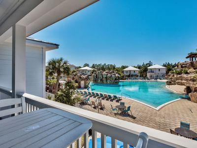Photo for Newly-built 5bdr, HUGE pool, Golf Cart, Bikes, 1/2 mile to beach!