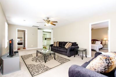 Living Room - Welcome to Nashville! This apartment is professionally managed by TurnKey Vacation Rentals.