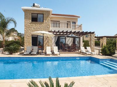 Photo for Modern 3BR villa with a pool located close to popular resort ideal for sunbathing
