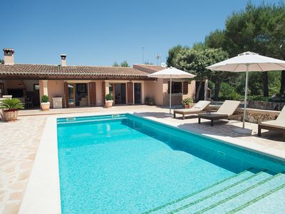 Photo for great panorama, rural location, close to Castell Santueri