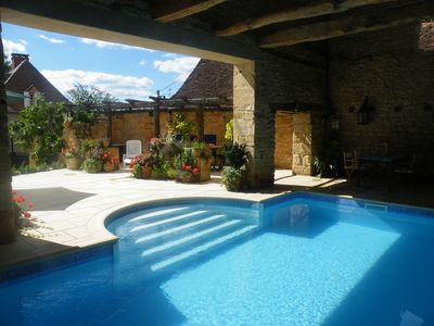 Photo for Beautiful 18th Century Farmhouse Private Heated Pool Set In Glorious Countryside