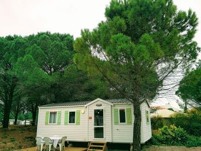 Photo for Mobile home for 6 people with terrace at the campsite Ensoya (3 stars) in Sigean