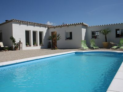 Photo for Modern, newly renovated house with pool 9 x 4 meters 15 min. to the beach, WIFI