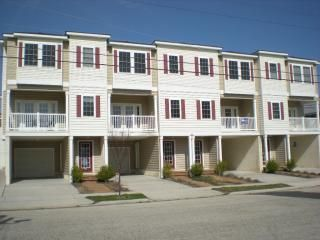 Front view of our townhouse group. Our unit is second from right.