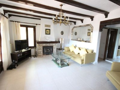 Photo for Luxury 4 Bed, 2 Bath Family Friendly Villa in Moraira with extensive terrace