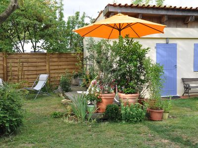 Photo for Small house in the garden of the owners