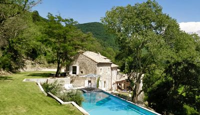 Photo for Domaine des Camarades, 40 ha estate with 20 meter heated pool