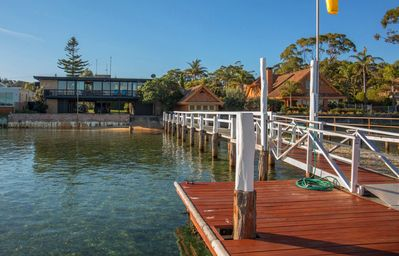 Photo for 'Southwind' on Main Street - Lake frontage with a jetty