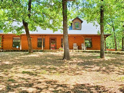 Photo for Spacious cabin  in rural area close to Turner Falls and Chickasaw National Park