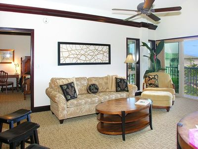 Family Room with Tommy Bahama Furniture Package