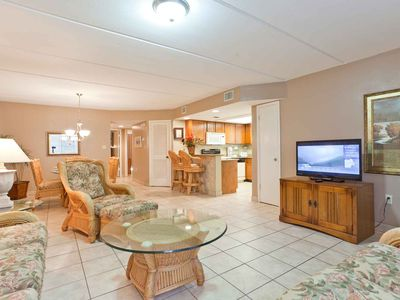 Beach View 210 - Beautiful condo, tropical landscaping, across the street from the beach.